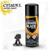 Citadel - Chaos Black Sprühgrundierung Spray 400ml