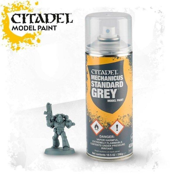 Citadel - Mechanicus Standard Grey Sprühgrundierung Spray 400ml