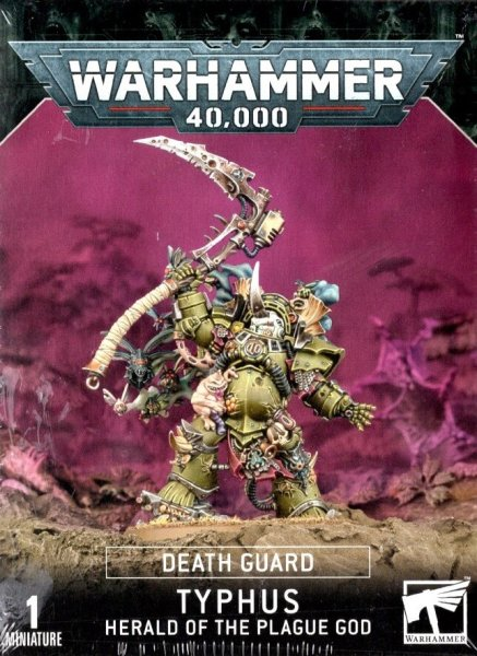 Death Guard - Typhus Herald of the Plague God