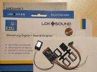ESU 58410 H0 LokSound5 Decoder DCC/MOT/mfx...