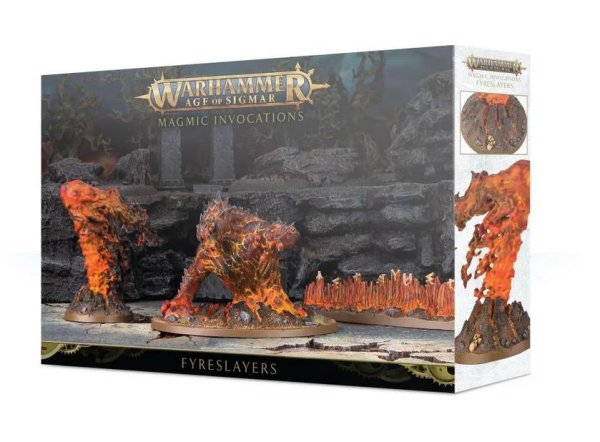 Fyreslayers - Magma-Anrufungen Invocations, Warhammer AoS Age of Sigmar