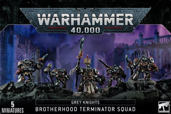 Grey Knights - Paladine Brotherhood Terminator Squad