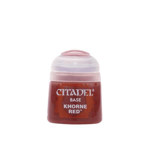 Citadel Base: Khorne Red 12ml
