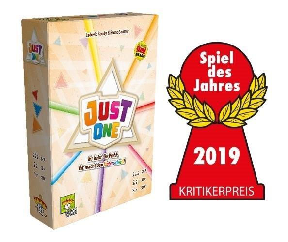 Just One, Partyspiel, Spiel des Jahres 2019 Kritikerpreis (DE) Brettspiel