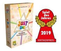 Just One, Partyspiel, Spiel des Jahres 2019 Kritikerpreis...