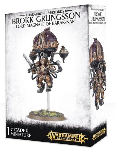 Kharadron Overlords - Brokk Grungsson, Lord-Magnate of Barak-Nar