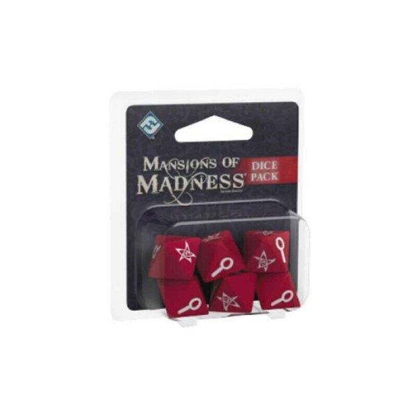 Mansions of Madness 2nd Edition: Würfel/ Dice Pack Villen des Wahnsinns