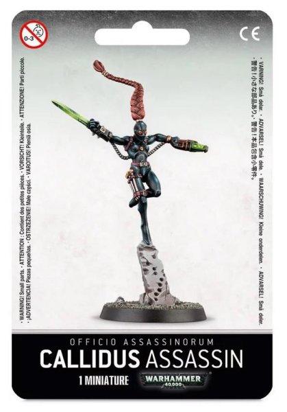 Astra Militarum Officio Assassinorum: Callidus Assassin