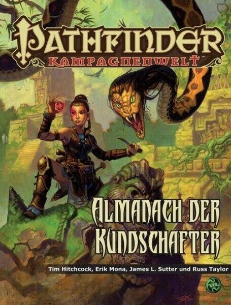Pathfinder Kampagnenwelt Almanach der Kundschafter