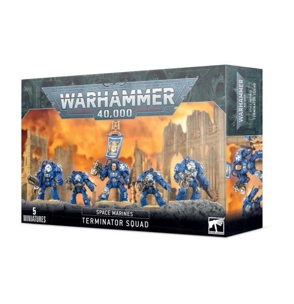 Space Marine - Terminator Trupp Squad
