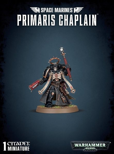 Space Marines - Primaris Chaplain