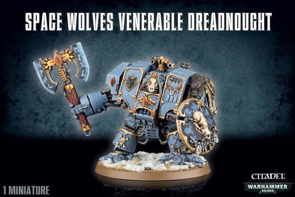 Space Wolves - Venerable Dreadnought