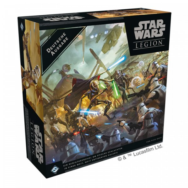 Star Wars Legion: Clone Wars Grundspiel (DE)